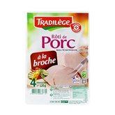 Rôti de porc Sup Tradilège VPF A la broche - x4 - 120g