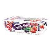taillefine fruits rouges danone 8x125g