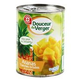 Ananas au jus naturel Fruistar Morceaux - 340g