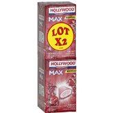 Chewing-gum Hollywood max Fruits d'été - 2x60g