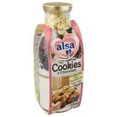 Alsa Préparation pour gateau Alsa Cookies 3 chocolats - 400g