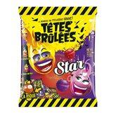 VERQUIN Confiseur Bonbon Têtes-Brulées Cassis Fraise - 100g