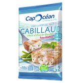 Cap Océan Cabillaud a poëler  Huile d'olive basilic - 200g