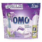 Omo Lessives 2en1 Omo Lavande & Patchouli x30 - 723g