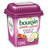 Boursin Fromage Boursin Salade Figue et 3 noix - 120g