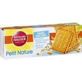 Gayelord Hauser Biscuit petit nature G.Hauser Sans sucre ajouté - 156g