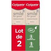 Colgate Dentifrice smile Colgate Blancheur - 2x75ml