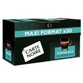 Carte Noire Café espresso Carte Noire N°7 Classique x30 -159g
