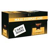 Carte Noire Café Espresso Carte Noire Lungo Classique x30 - 168g