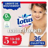 Lotus Culottes Lotus Baby Touch T5 : 13/20kg - x36 changes