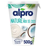 Alpro Dessert végétal soja Alpro noix de coco - 500g