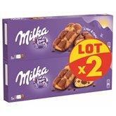 Milka Biscuits cake & chocolat  Milka 2x175g