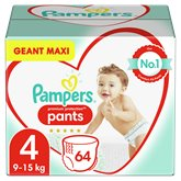 Pampers Culottes Pampers Premium Protection Taille 4 - x64