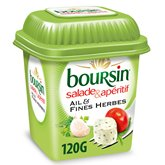 Boursin Fromage Boursin salade Ail et fines herbes -120g