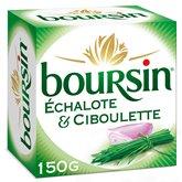 Boursin Fromage Boursin Echalote et ciboulette - 150g
