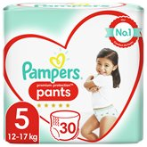 Pampers Culottes Pampers Premium Protection T5 : 11/18kg - x30