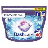 Dash Lessive All in 1 Dash Pods Envolée d'air x40- 1004g