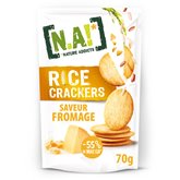 [N.A!] Nature Addicts Crackers N.A! Fromage - 70g