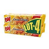 Biscuits casse-croûte BN 4x375g