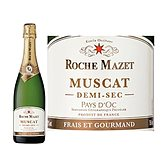 Roche Mazet IGP muscat demi sec 12.5% vol 75cl